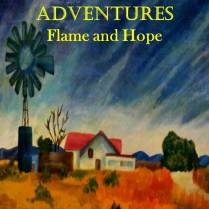 Africa Flame Book Cover Design Lauren