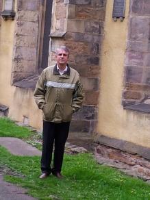 At Greyfriars Churh Kirkyard, Edinburgh