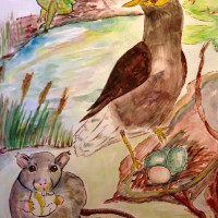 Short Story - The Common Mynas and the Bad Rat - Parts 1 and 2 - Maretha Botha