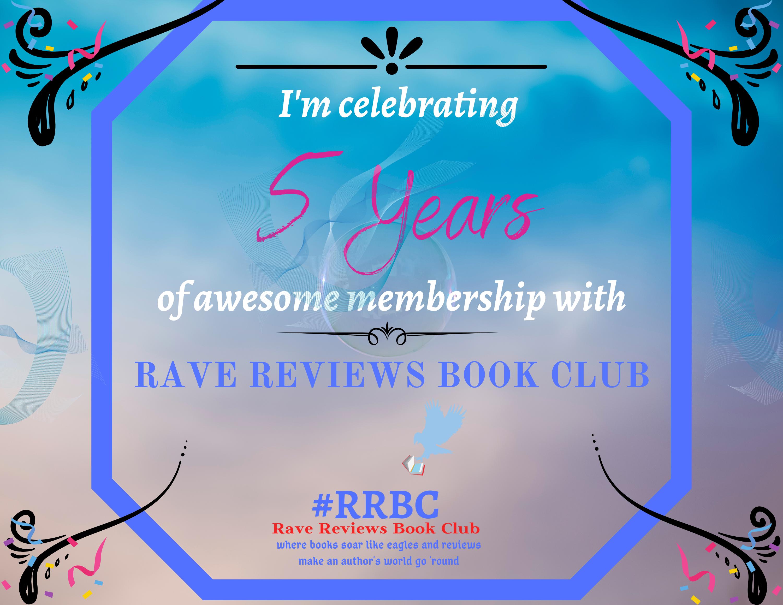 Happy Clubaversary to me! – FIVE Years' Membership #RRBC