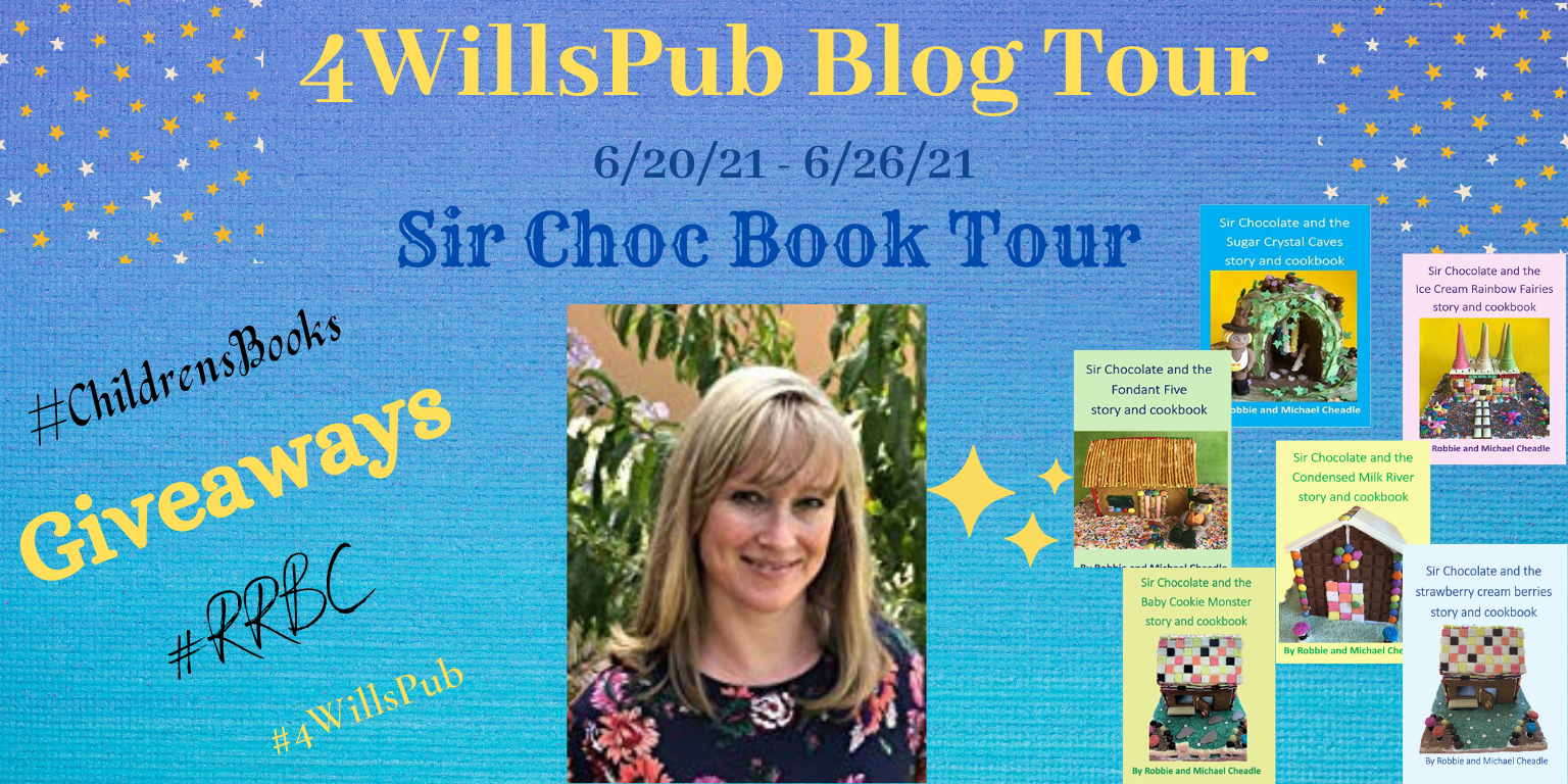 """Welcome to Day 3 of the""""SIR CHOC""""Book Tour!@bakeandwrite@4WillsPub @4WP11 @RRBC_Org #RRBC."""